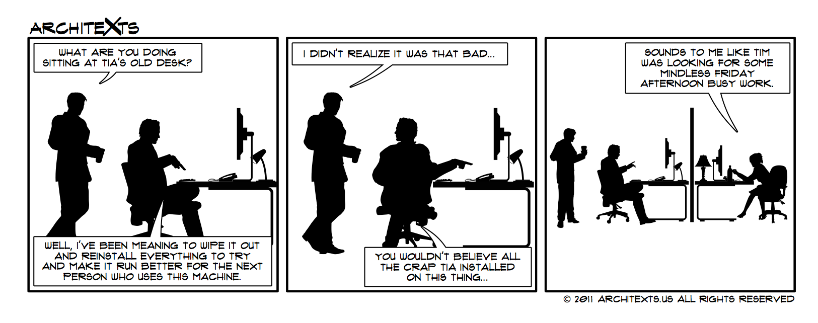 Chronicles of the Office IT Guy VIII